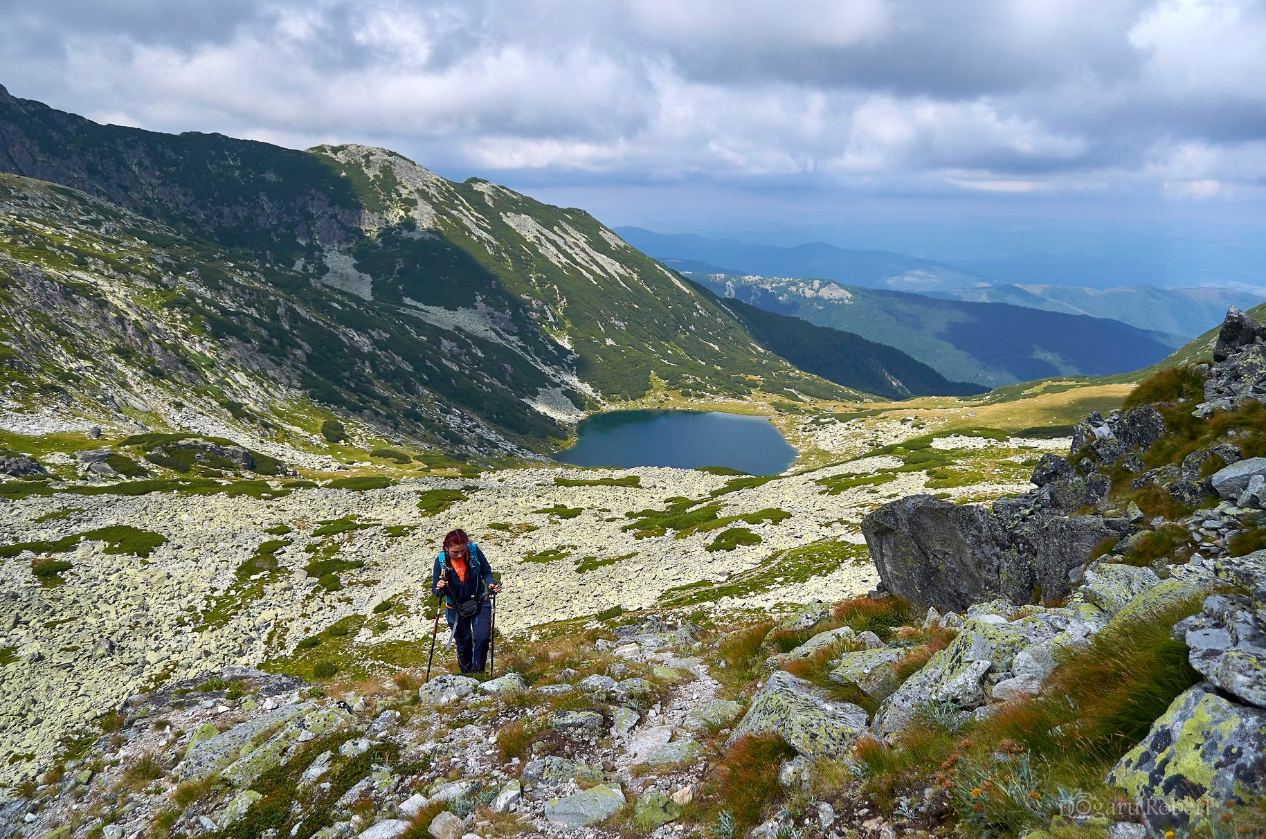 Lacul Galeș, urcare spre Vf. Mare - Robert Dogaru