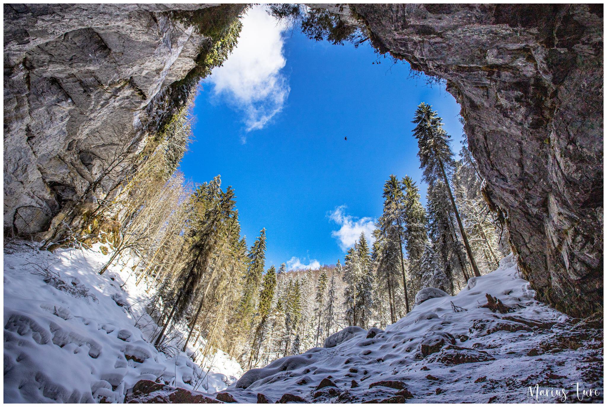 Portalul peșterii Coiba Mare- Marius Turc