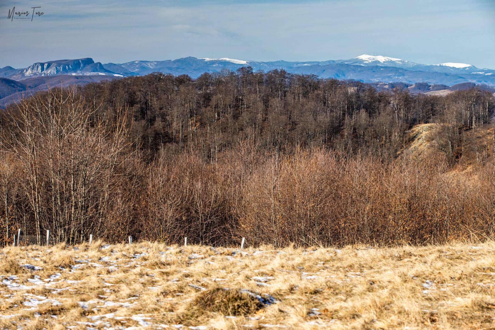 Panorama spre Muntele Vulcan,Gaina,Biharia si Piatra Graitoare - Marius Turc