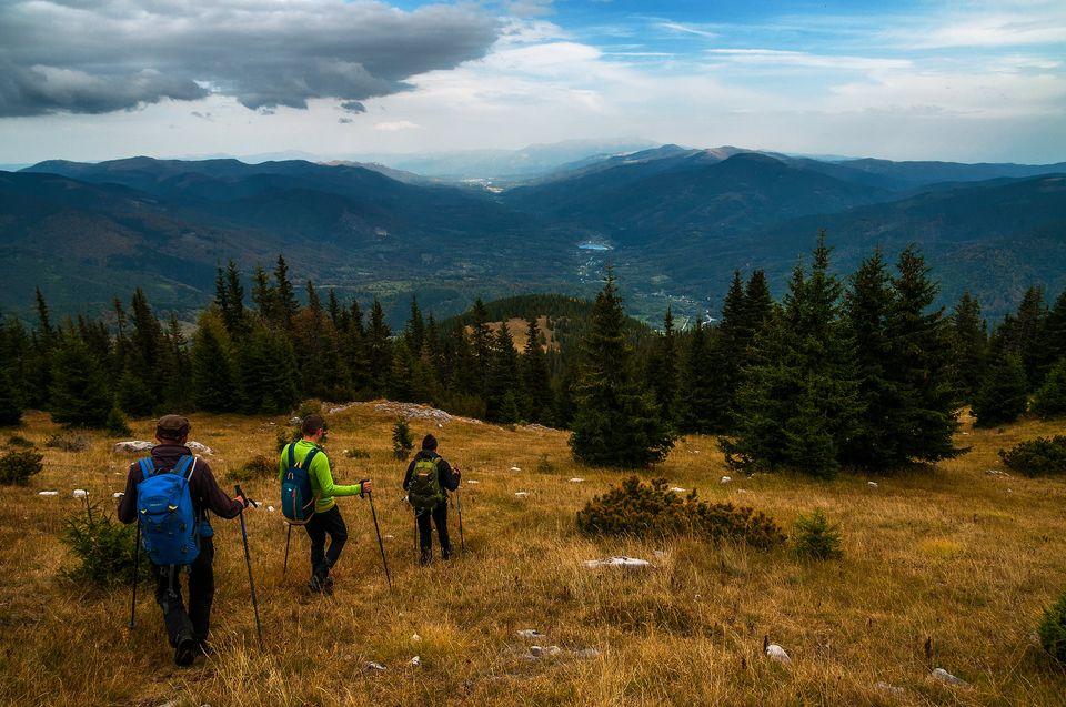 Coborarea spre Valea Jiului de Vest - Daniel Morar