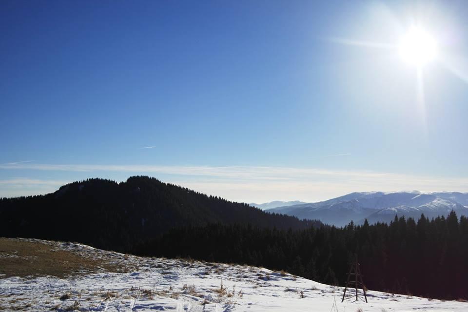 Schi de tura in Ciucas
