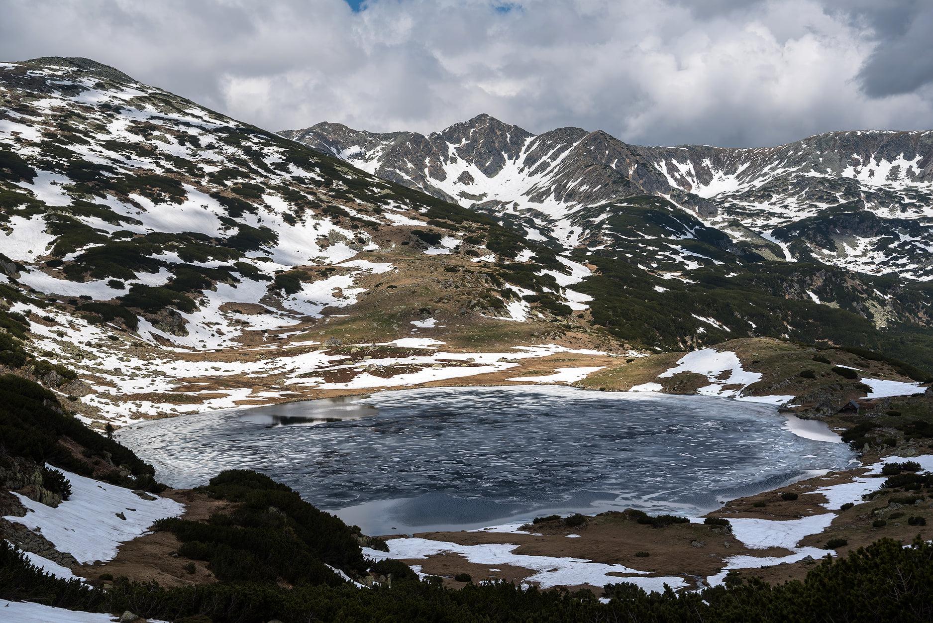 Lacul Zanoaga, cel mai adanc din tara - Daniel Morar
