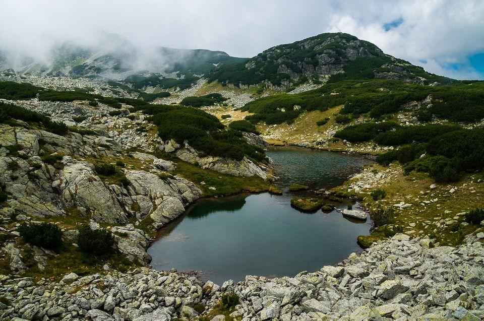 Lacul Păsări, ca o clepsidră - Morar Daniel