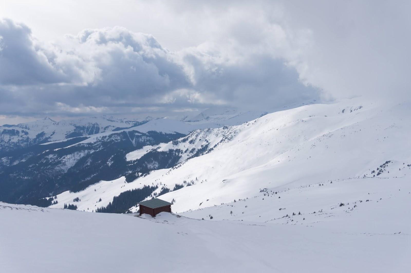 După amiază de iarnă în șaua Gărgălău - Alina Cîrja