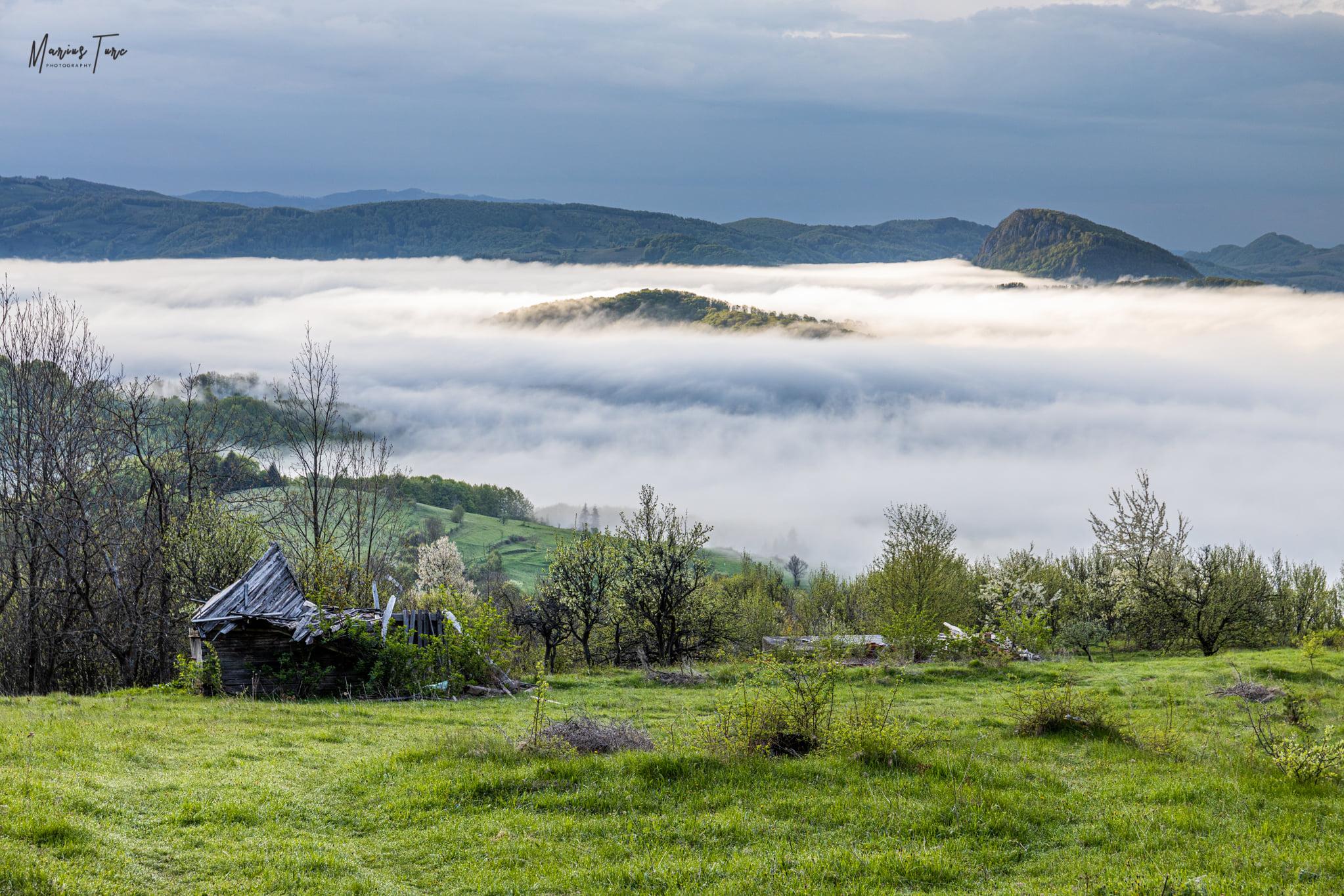 Ceata diminetii peste Tara Abrudului - Marius Turc