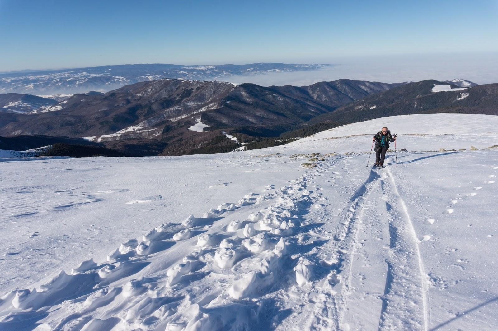 Urcarea spre vârful Sadovanu - Alina Cirja