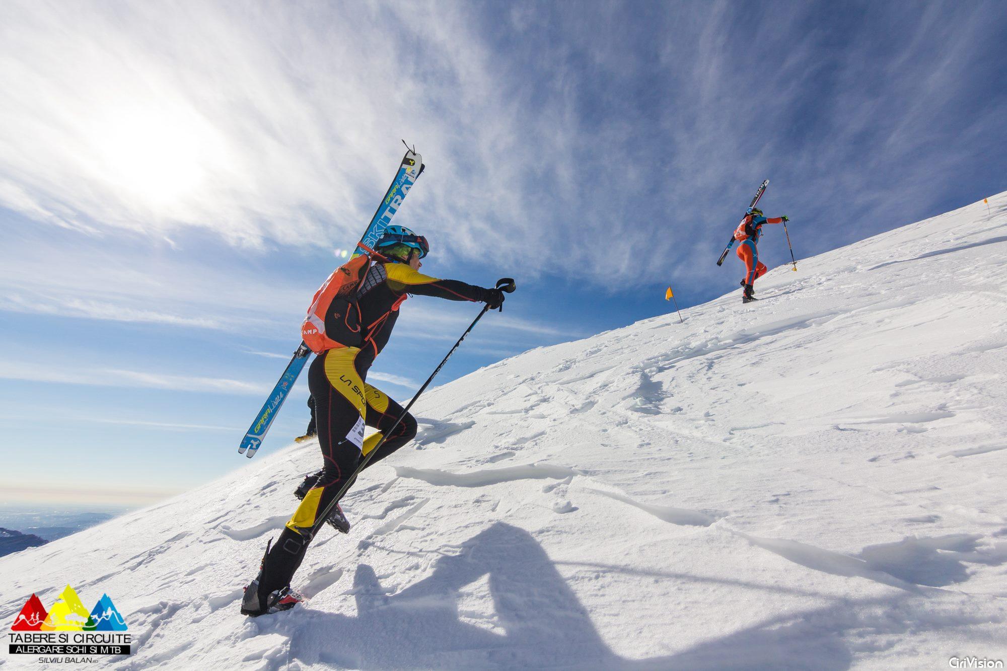 Schi alpinism Silviu Bălan