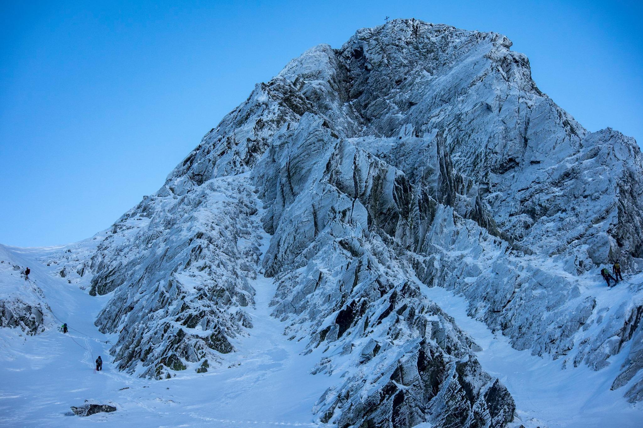 Alpinism pe Coltul Balaceni - Willy Portik