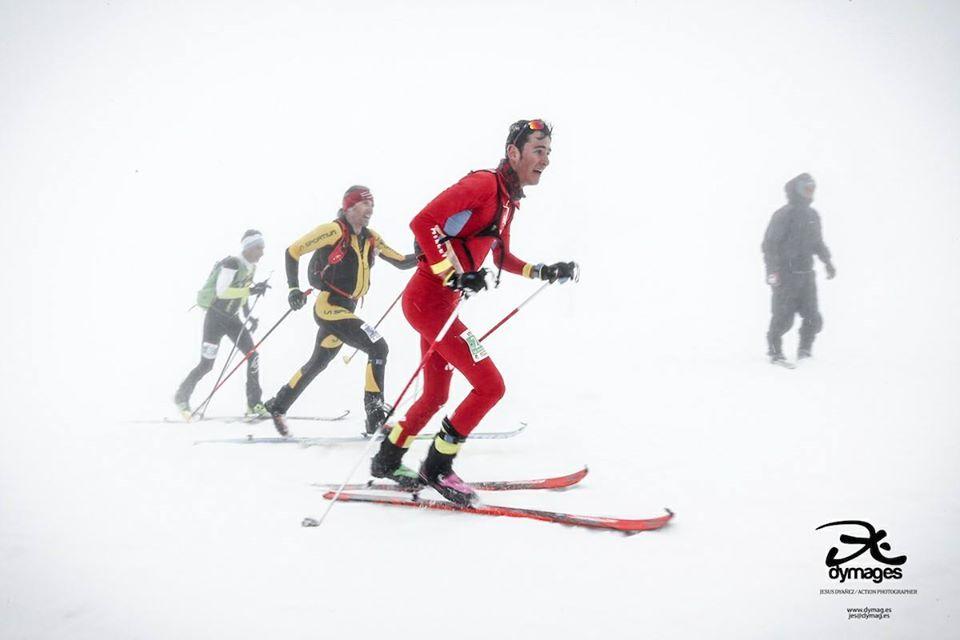 Campionatul European de Schi Alpinism 2018  Muntele Etna, Sicilia - Silviu Balan