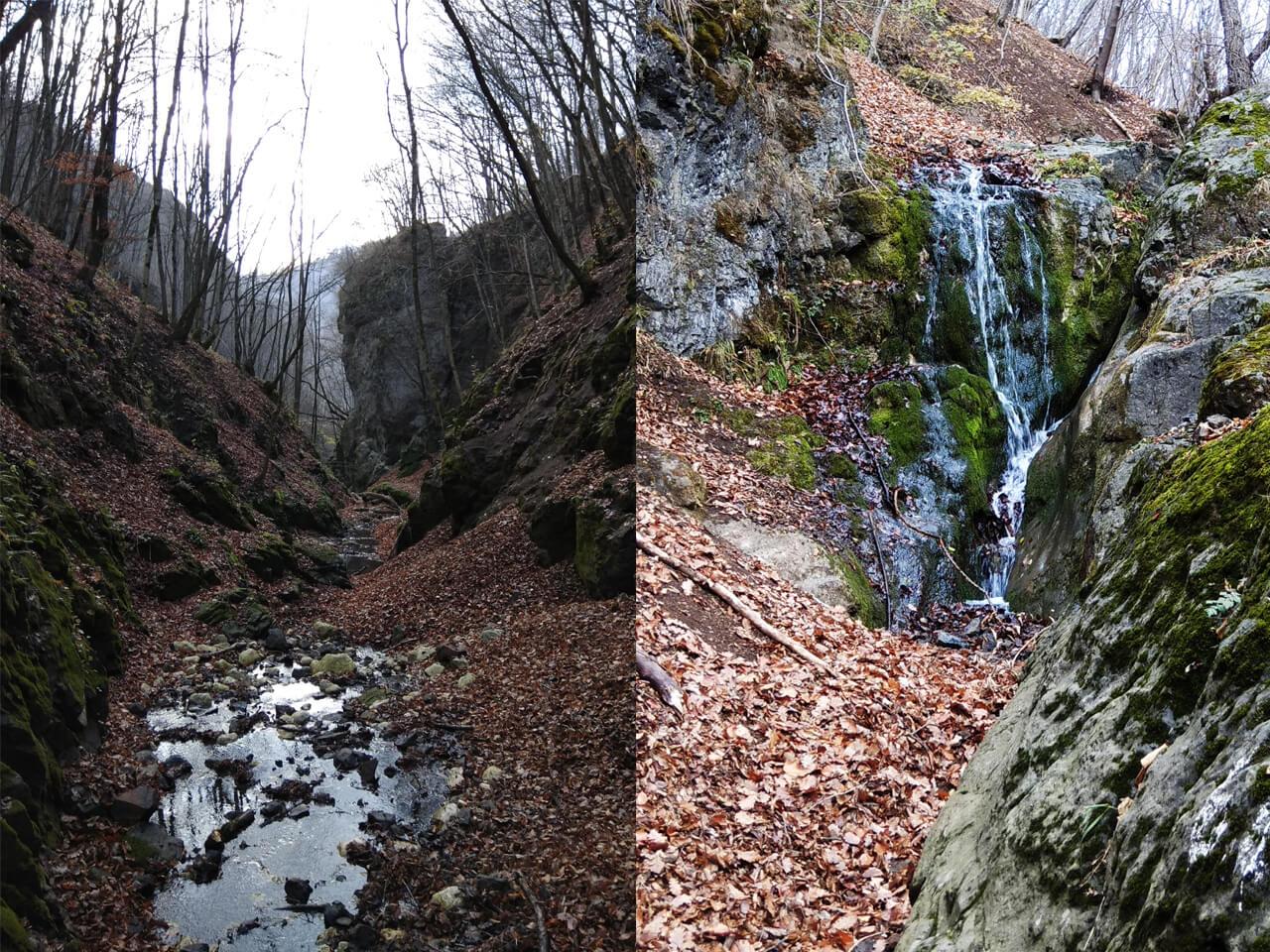 Cheile Borzești-Cascadele de Jos-Manu Munțomanu