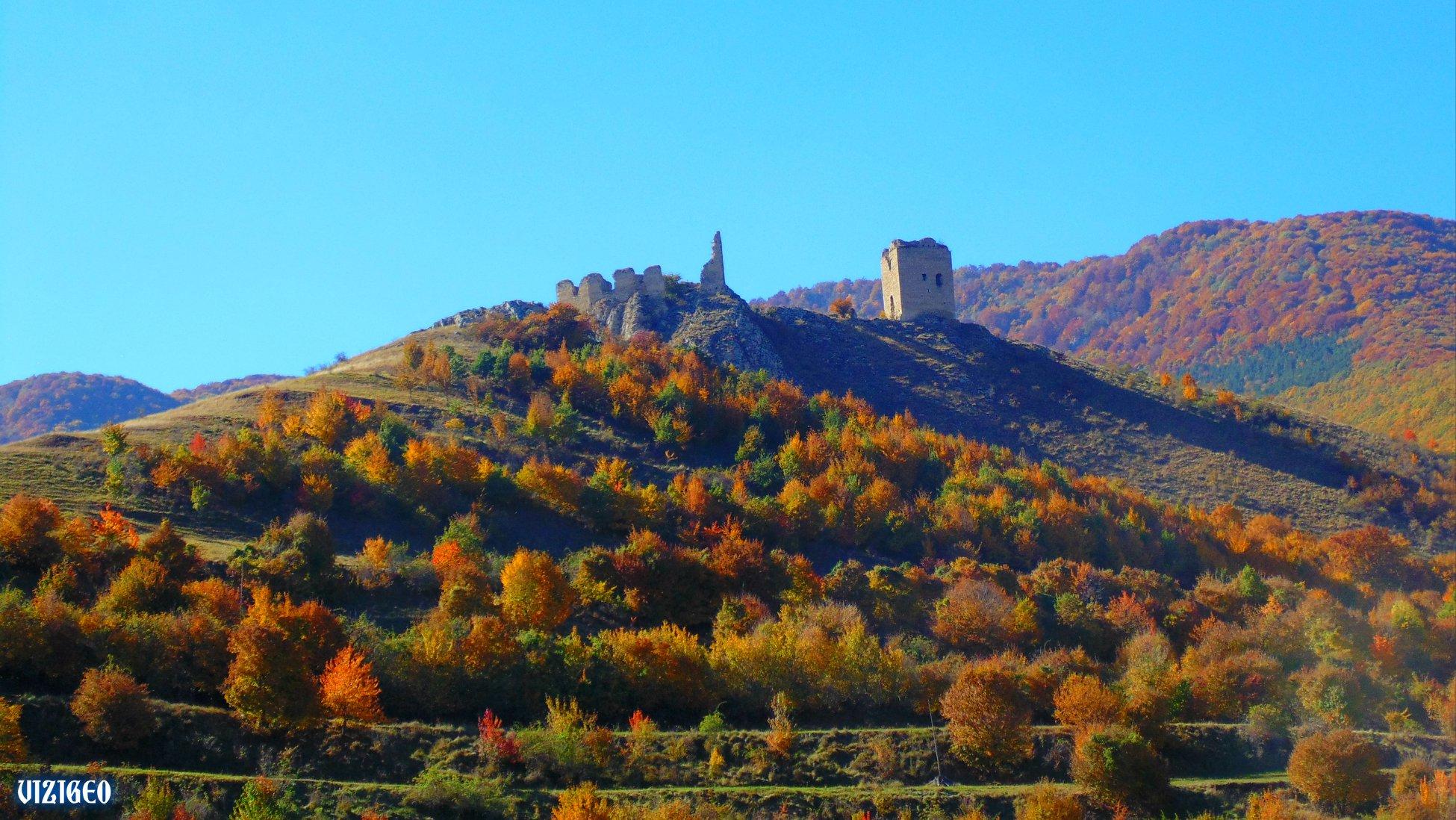 Cetatea Coltesti toamna - Geo Vizi