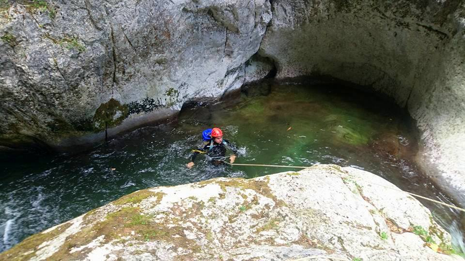 Canyoning Cheile Butii - Arian Adventure