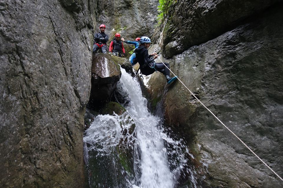 Canyoning Cheile Tasnei - Arian Adventures