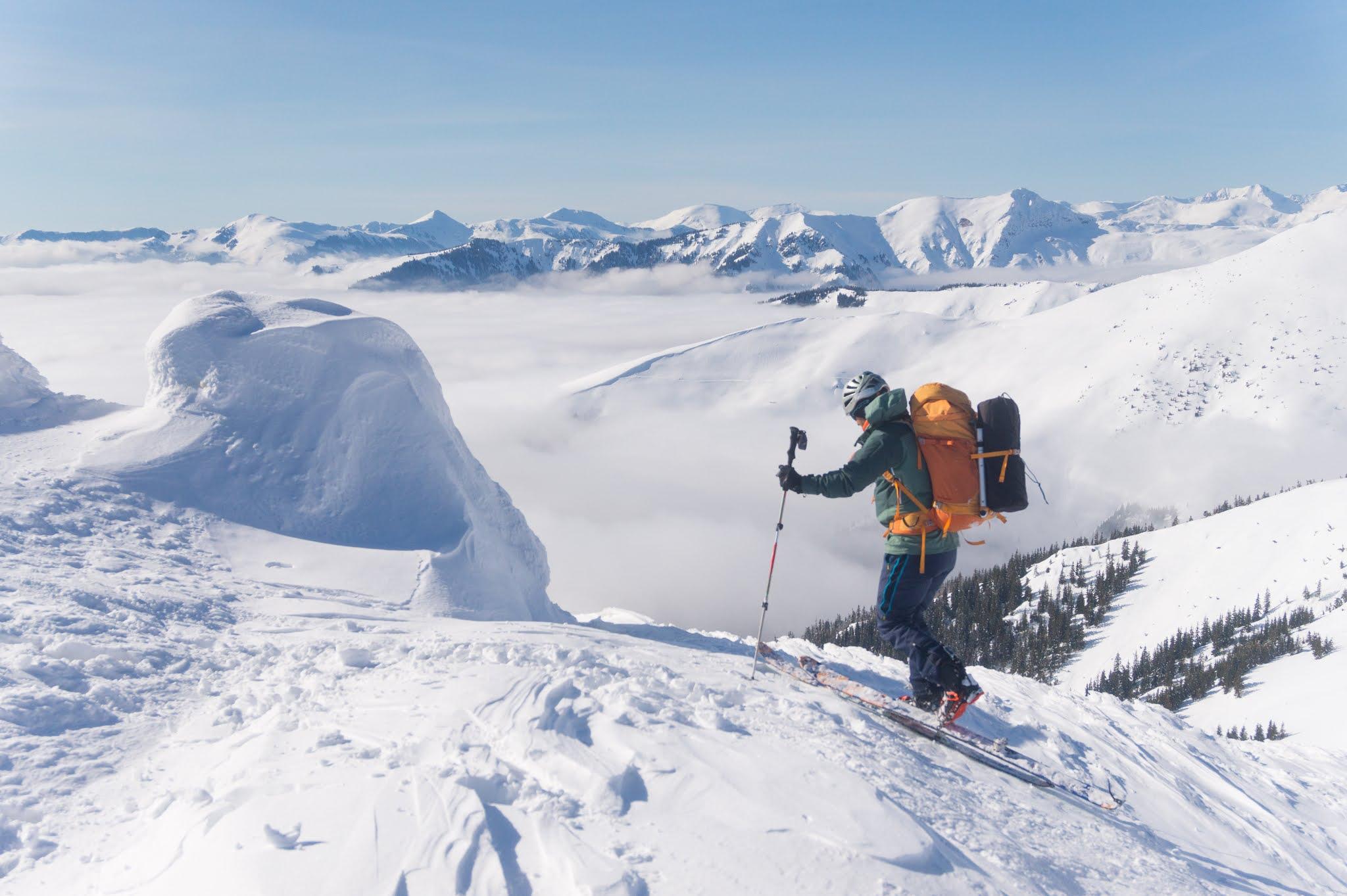 Schi de tura în Munții Rodnei - Alina Cîrja
