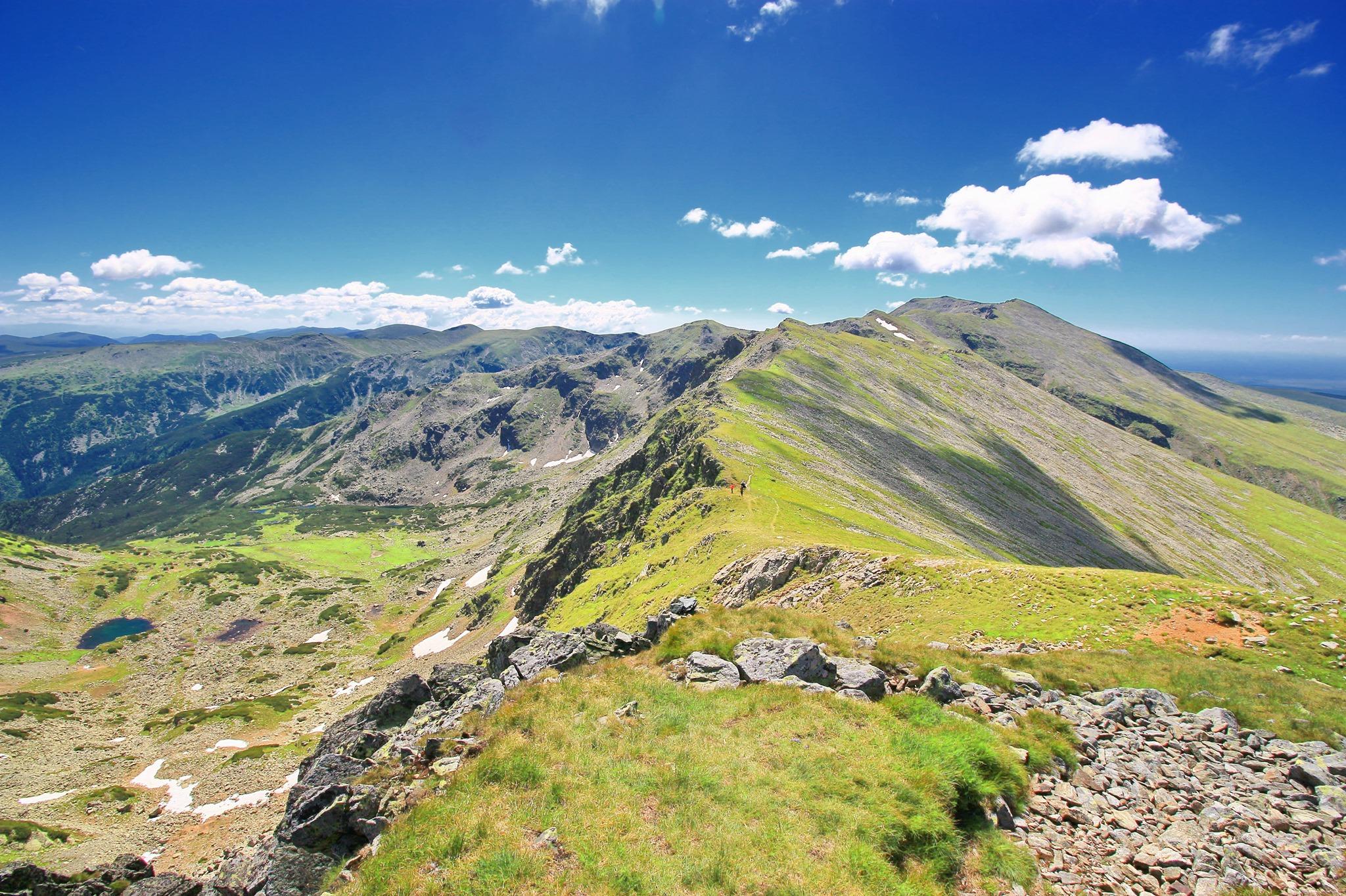 Creasta Munților Parâng văzută de pe Vârful Cârja - Liana Marin