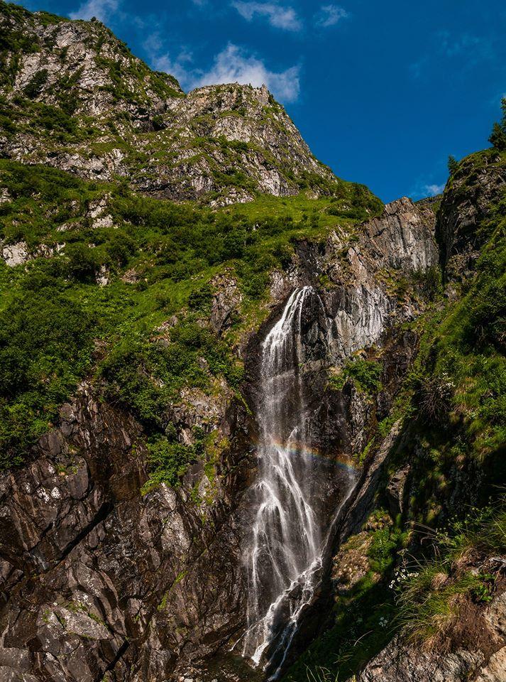 Curcubeu pe Valea Rea a Moldoveanului - Morar Daniel