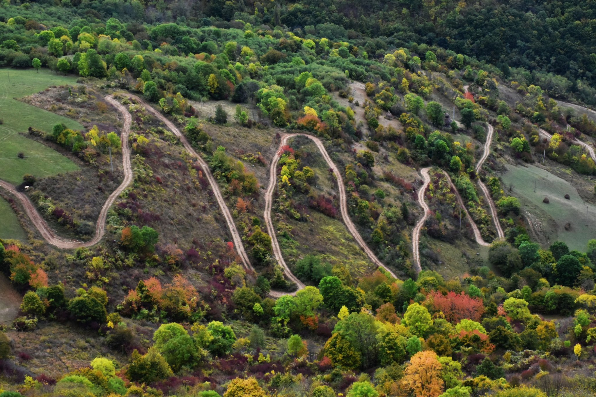 Drumul Ramet - Valea Manastirii