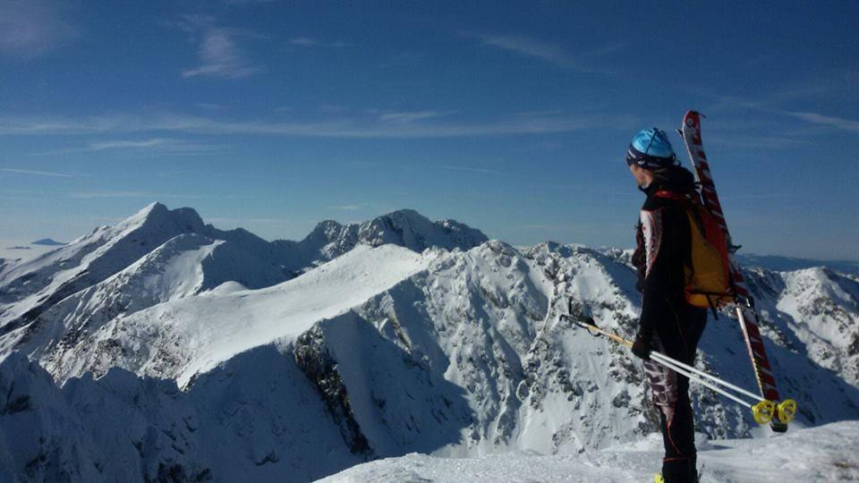 Silviu Balan schi de tura Fagaras - Tabere Silviu Balan