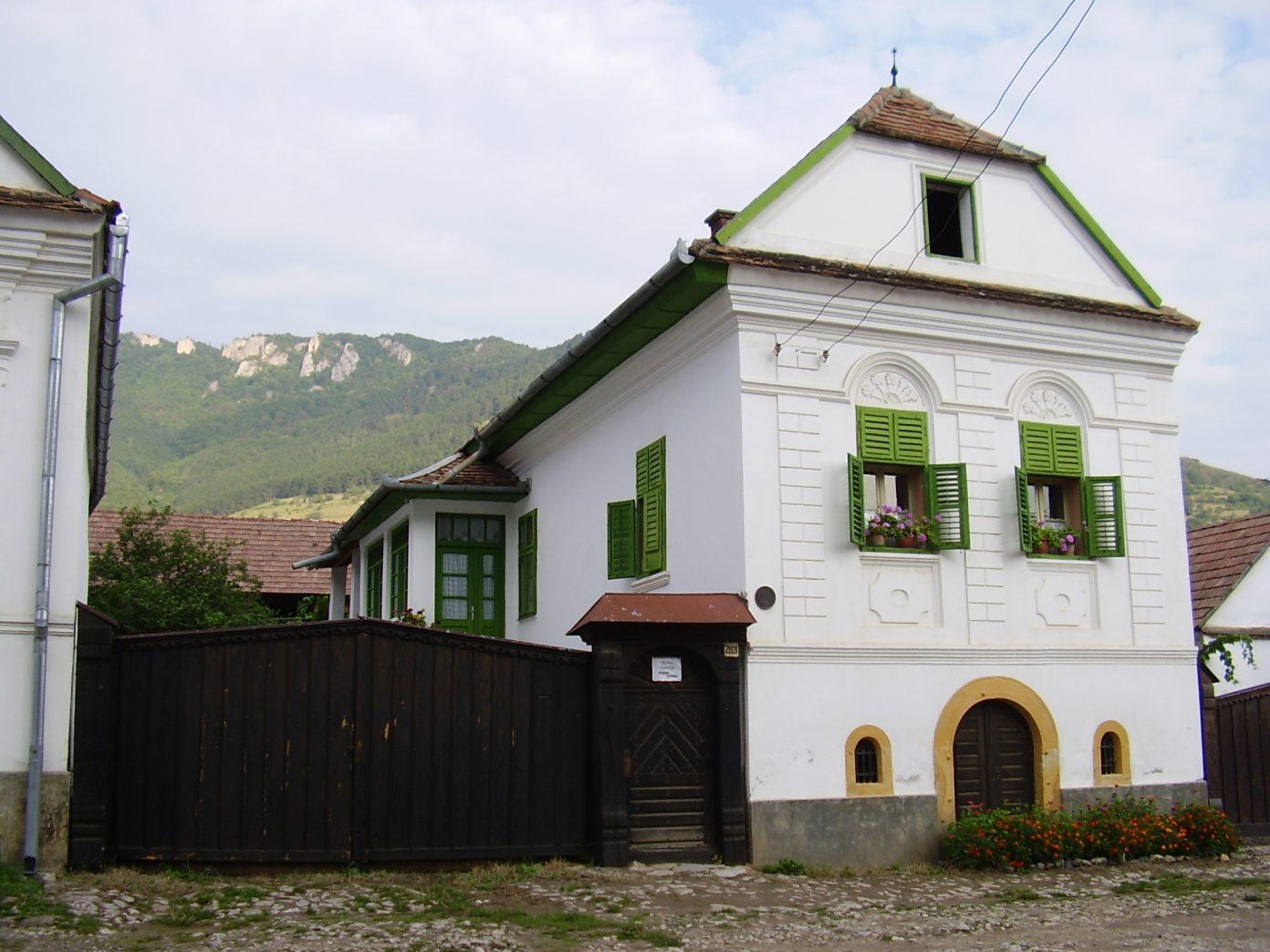Case cu ferestre secuiești - Rimetea