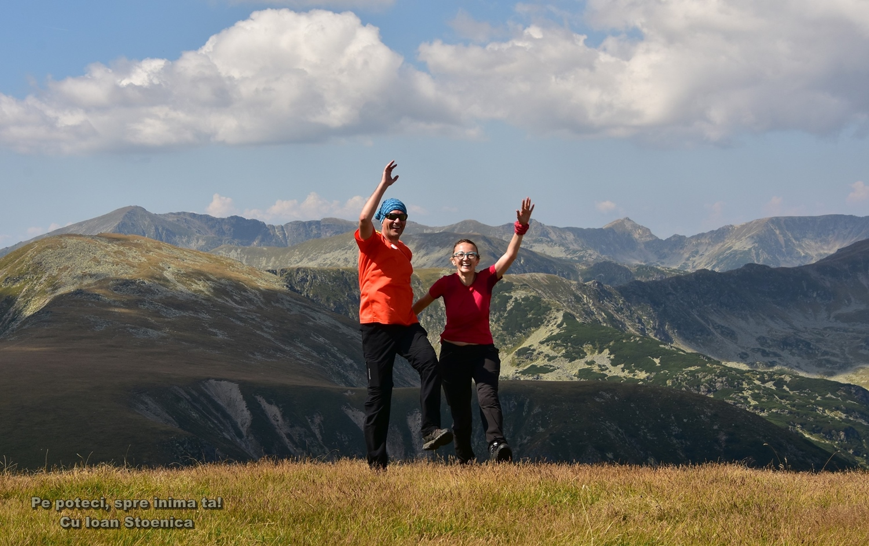 bucurosi pe munte