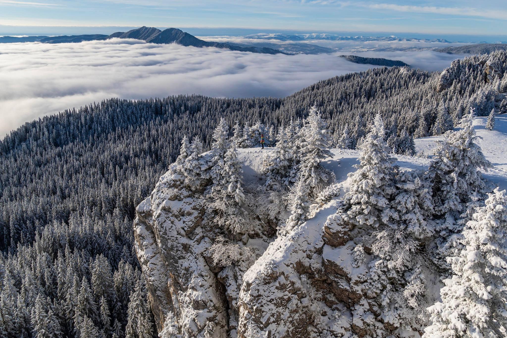 În zona abruptului sudic al Vârfului Rarău - Andrei Pahomi