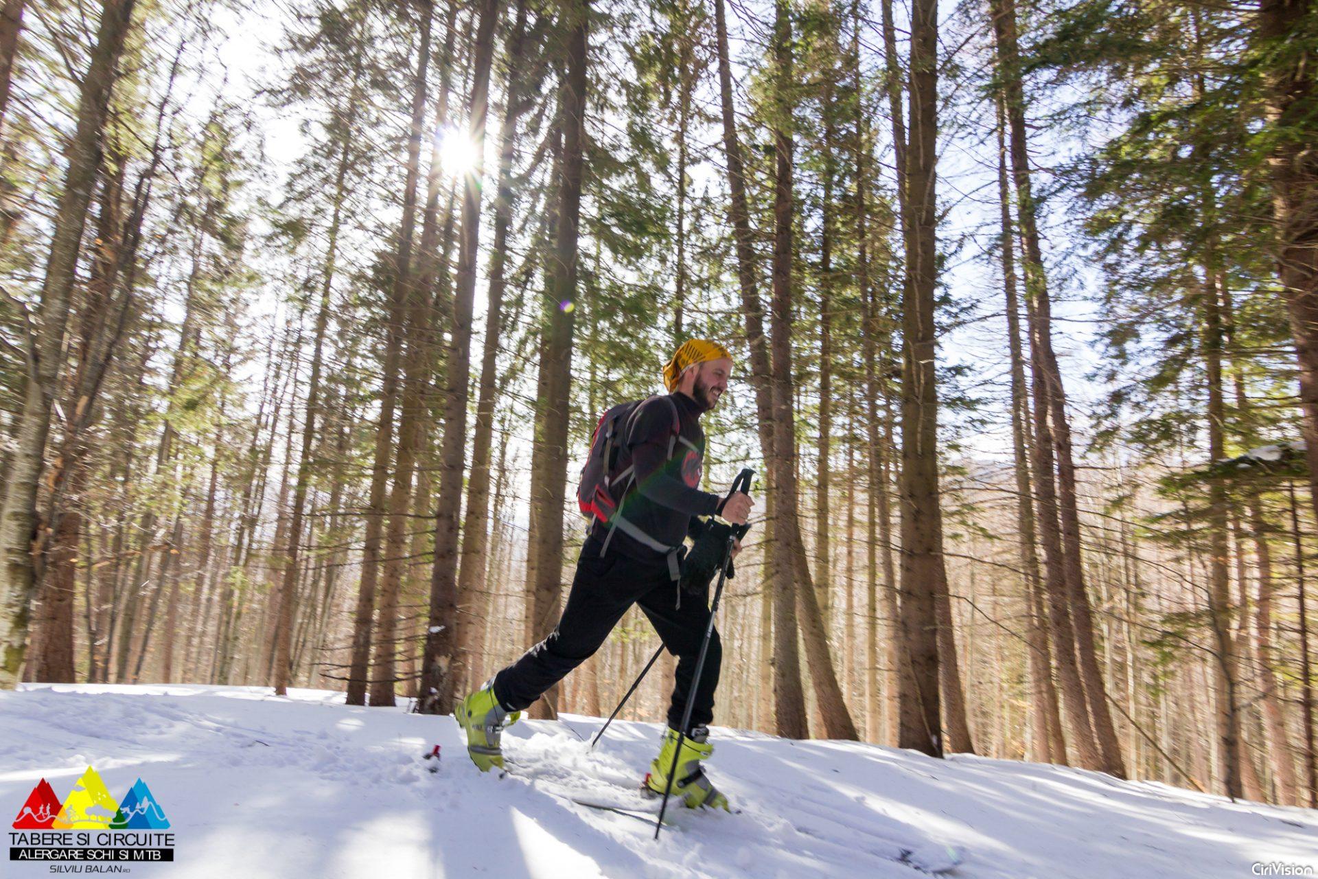 Schi de tura urcare - Tabere Silviu Balan