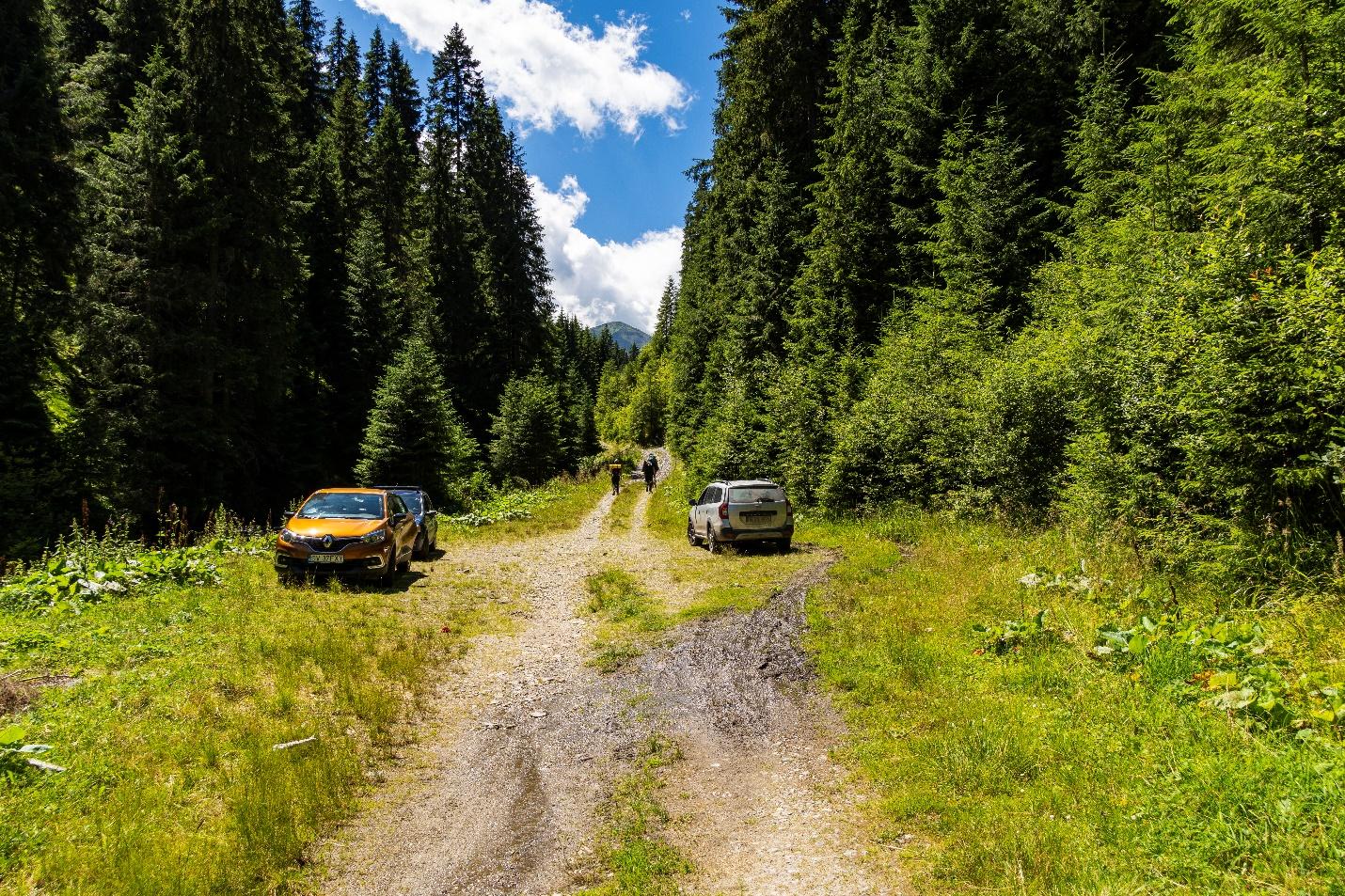 La Valtoare - capatul drumului Valea Lala - Andrei Pahomi - CalatoriileLuiAndrei