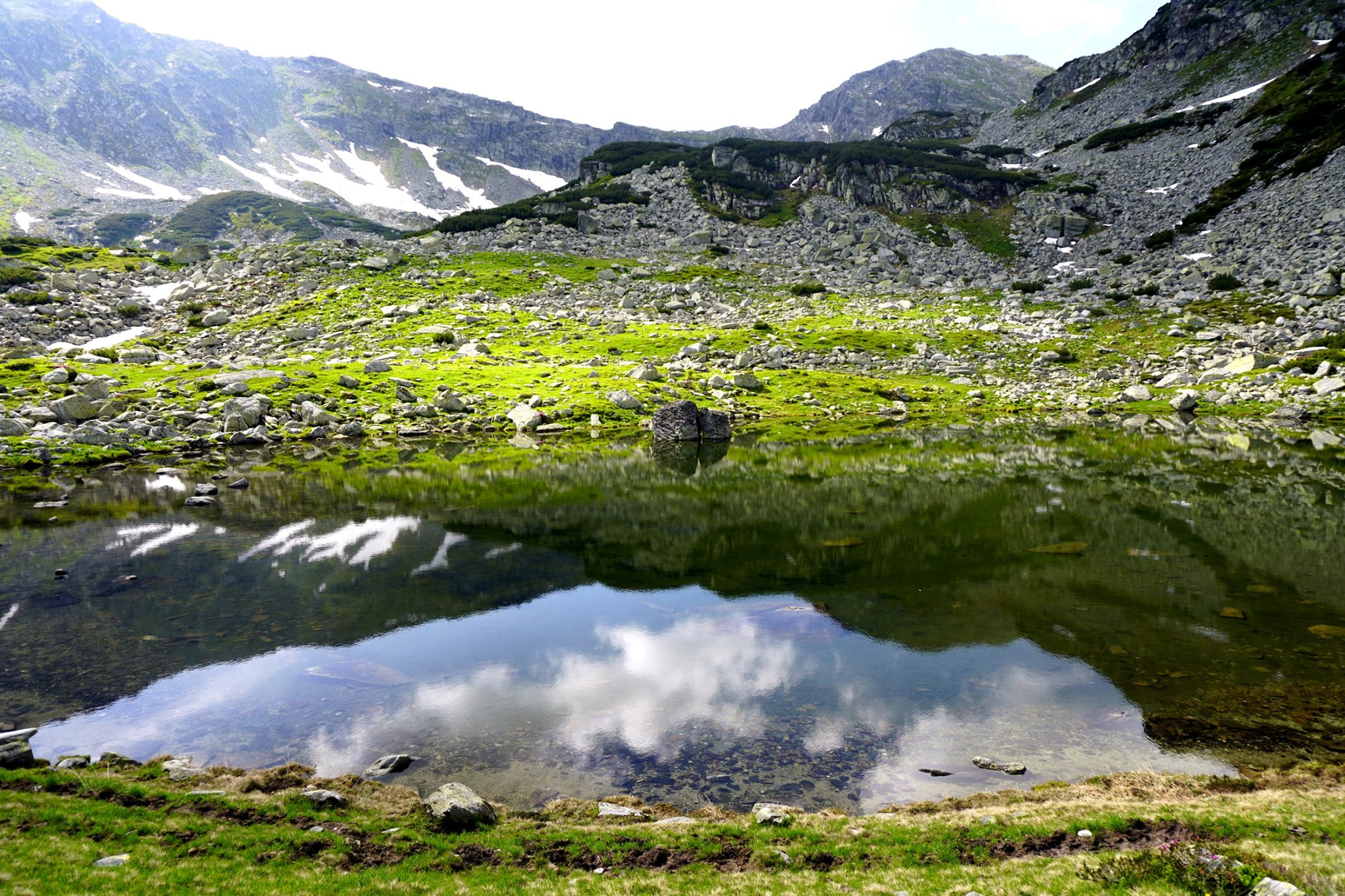 Lacul Zanoaga Stanei - Alexandra Pușcașu