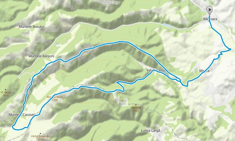 Masca - Mt. Boinic - Dl Bilii