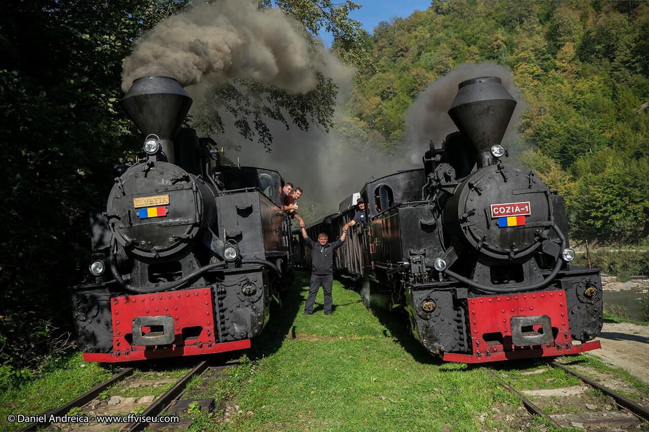 Mocanita - Valea Vaserului - patrimoniu locomotive cu abur
