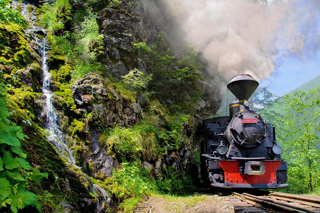 Mocanita - Valea Vaserului - Locomotiva Măriuța