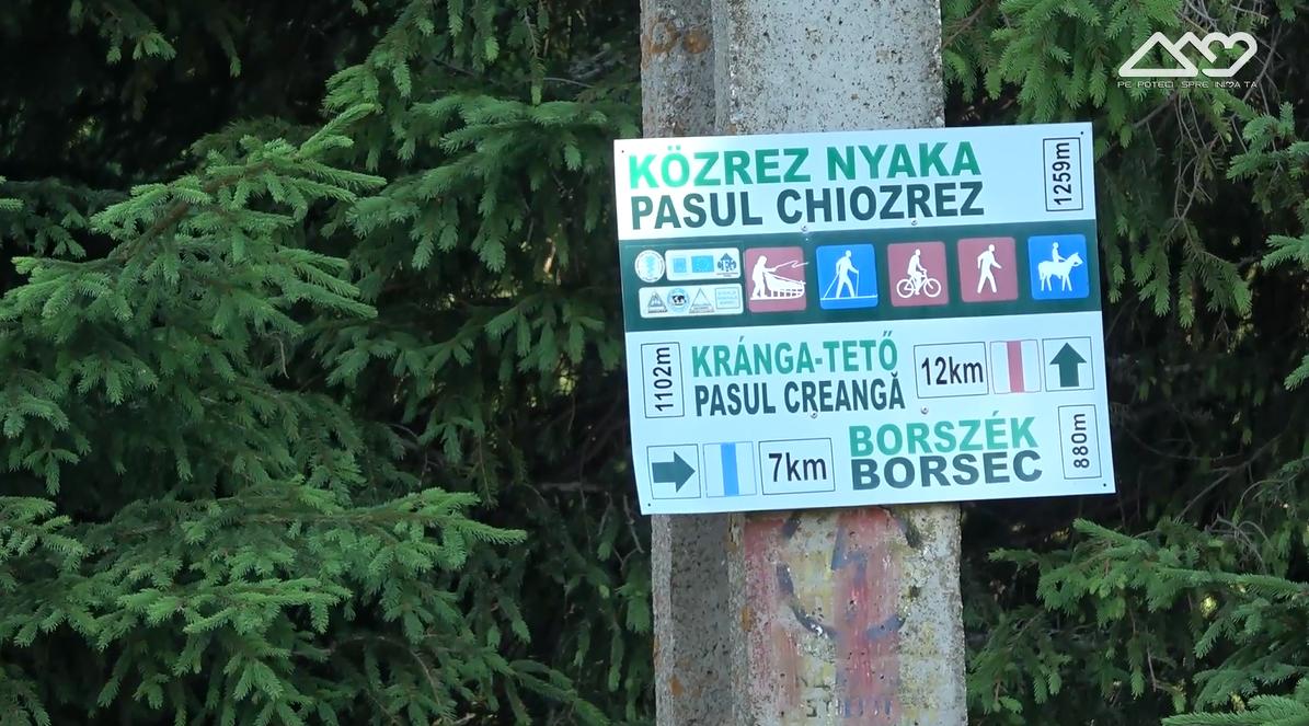 Indicator in Pasul Chiozrez