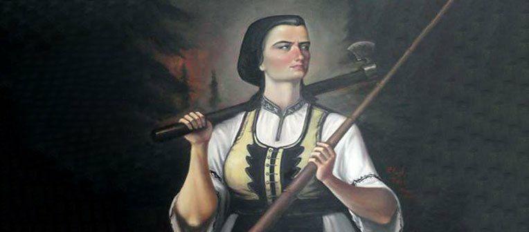 Pelaghia Rosu - eroina din Marisel