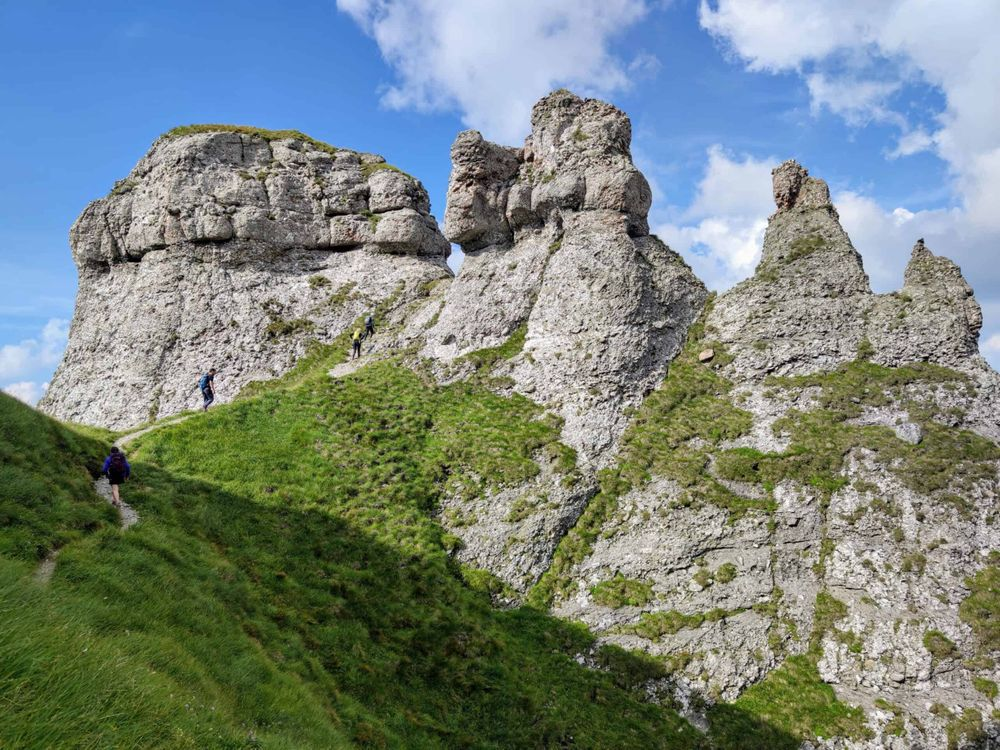 Potecă îngustă în zona Turnurile Țigănești - GreuLaDeal