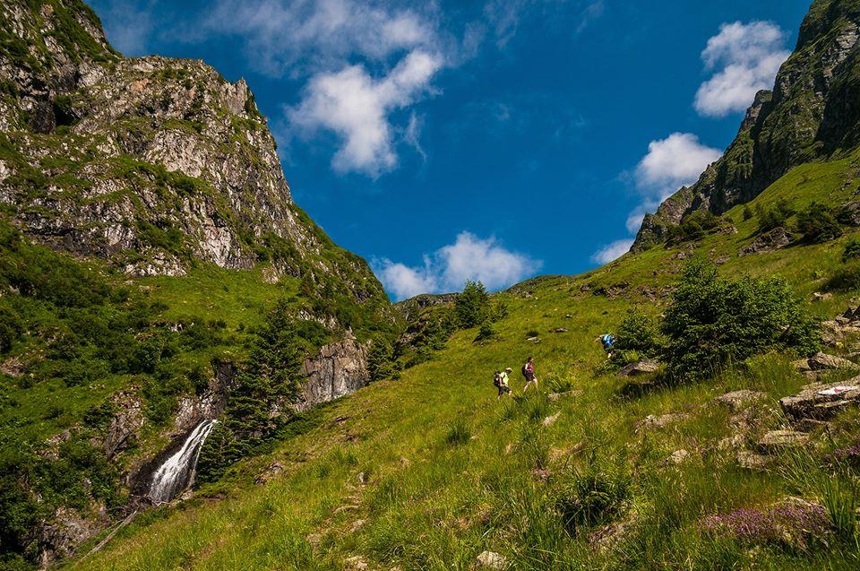 Prima serie de cascade de pe Valea Rea -  Morar Daniel