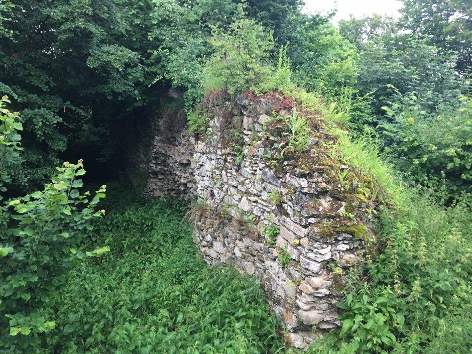 23mn img 28pg ruinele cetatii medievale salgo