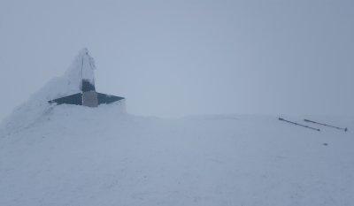 Varful Lespezi, Iarna