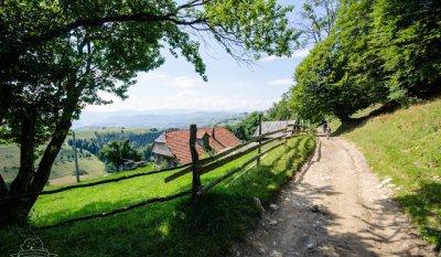 Poalele Pietrei Craiului, satul Măgura și Prăpăstiile Zărneștilor via Cheile Pisicii