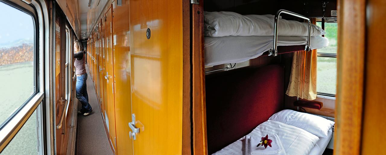 Mocanita - Valea Vaserului - tren-hotel staționar