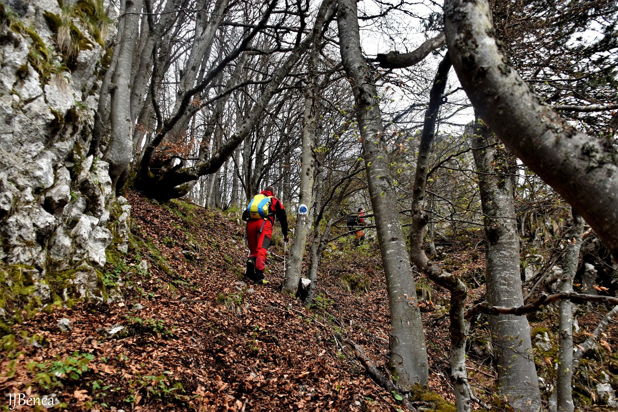 Urcarea finală pe Circuitul Vârfului Vulcan - Ioan Benea Jurca