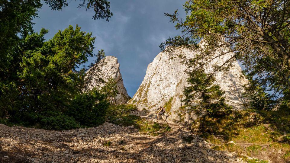Urcarea pe Piatra Singuratică - Andrei Pahomi