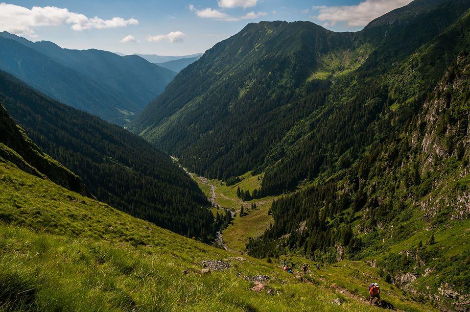 Valea Rea spre Stana lui Burnei -  Morar Daniel
