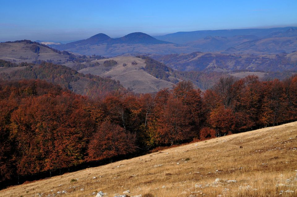 Varful Gemenele vazut de pe platoul Ciumerna - Daniel Morar