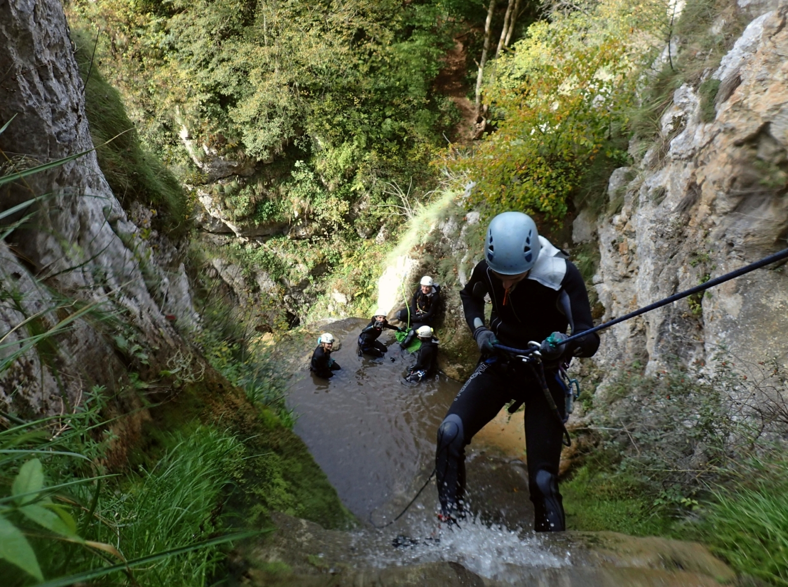 Canyoning Vatanarile Ponorului - Adventure Center