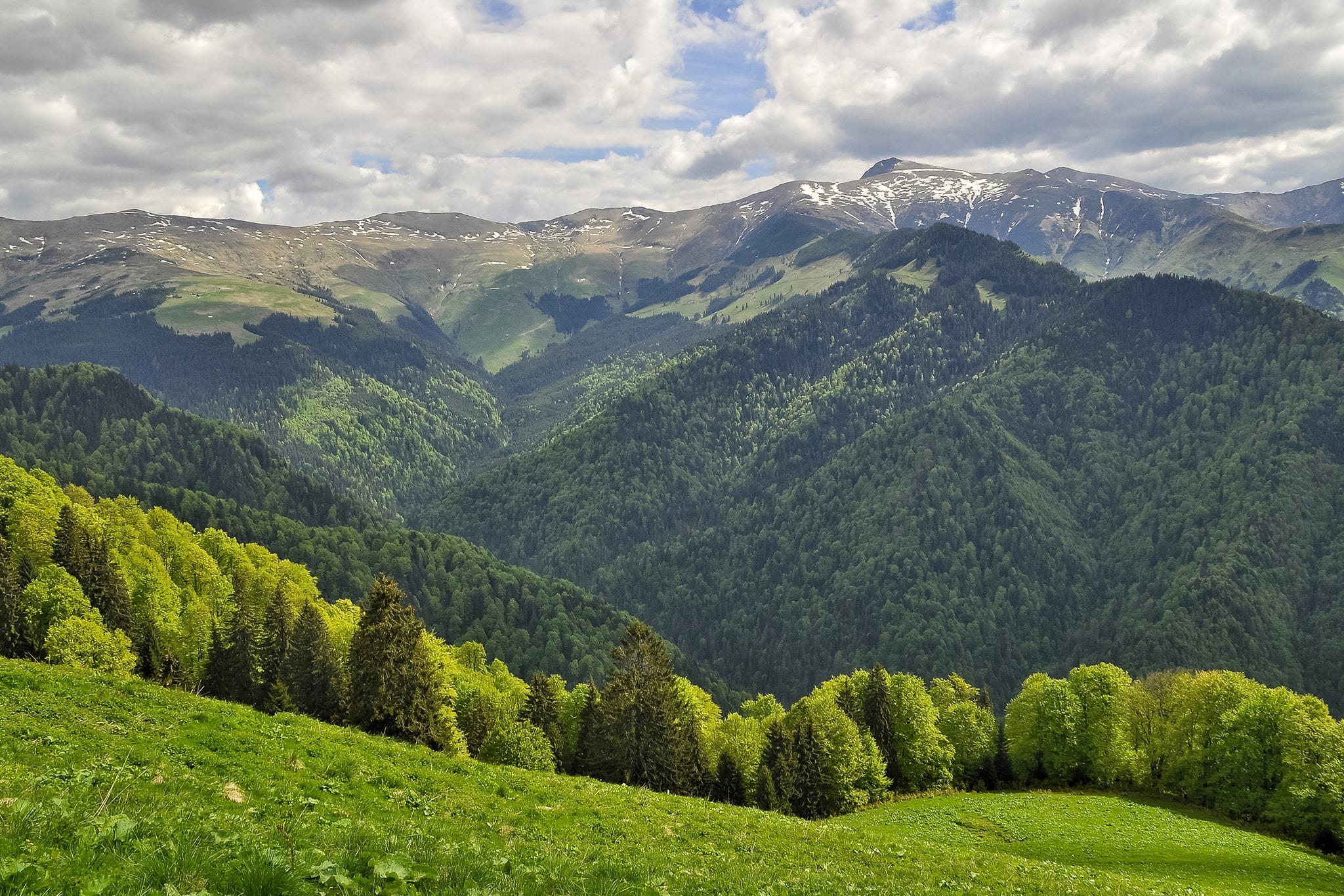 vedere spre Ineu - Iulian Radu