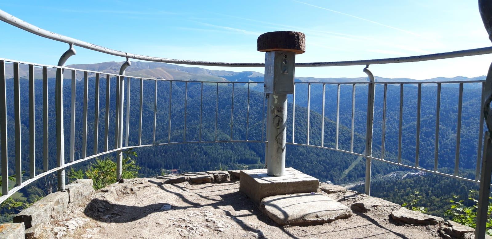 panorama de pe Stanca Franz Josef